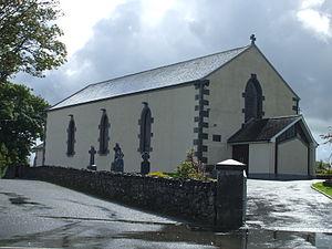 Inagh and Kilnamona - Image: Kilnamona Church