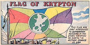 Kryptonian - Flag of Krypton