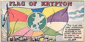 Kryptonian - Flag of Krypton