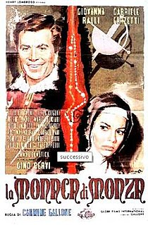 <i>La monaca di Monza</i> (1962 film) 1962 film by Carmine Gallone