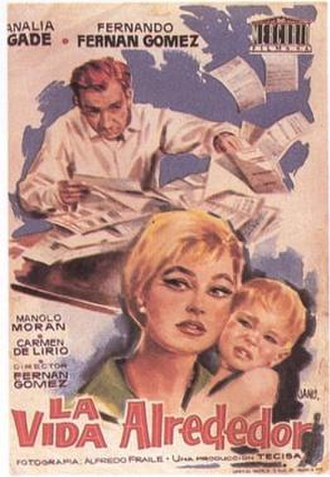 La vida alrededor - Spanish theatrical release poster