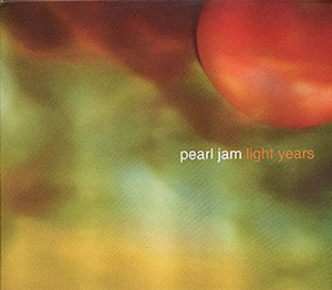 Light Years (Pearl Jam song) - Image: Light Years (Pearl Jam song) coverart