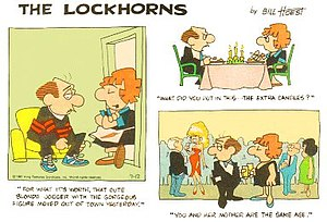 The Lockhorns - Bill Hoest's The Lockhorns (July 12, 1981)