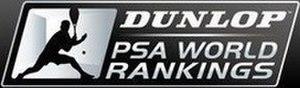 Official Men's Squash World Ranking - Dunlop PSA World Ranking