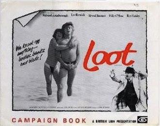 Loot (1970 film) - Film poster