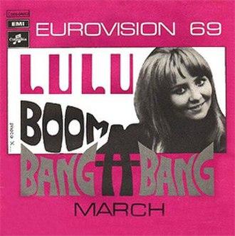 Boom Bang-a-Bang - Image: Lulu Boom Bang a Bang