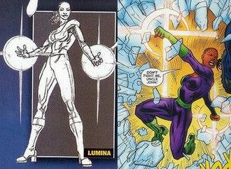 Natasha Irons - Natasha gains superpowers.