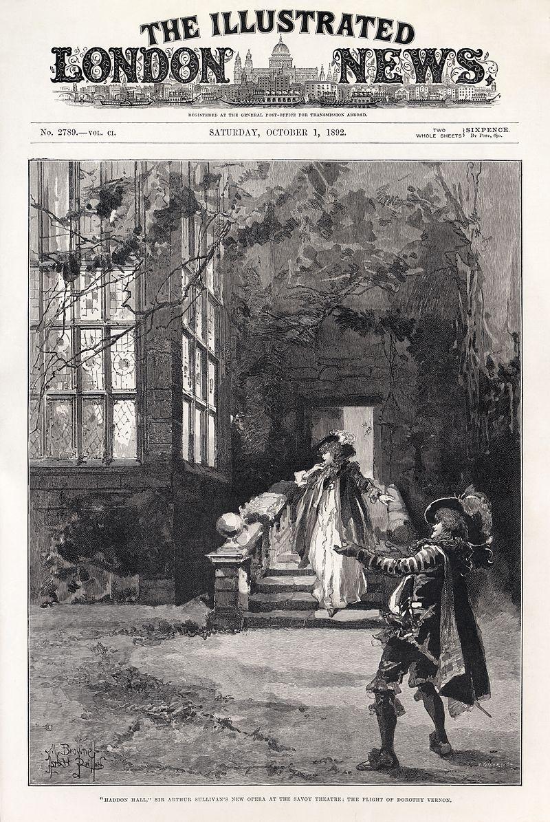 M. Browne - Herbert Railton - Sydney Grundy - Arthur Sullivan - Haddon Hall.jpg