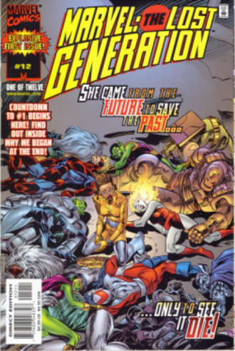 Marvel: The Lost Generation - Image: Marvel lost generation 12