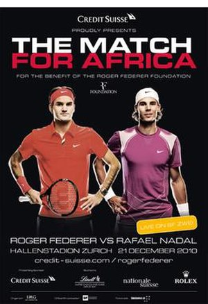 Match for Africa and Joining Forces for the Benefit of Children - Poster for the Match for Africa