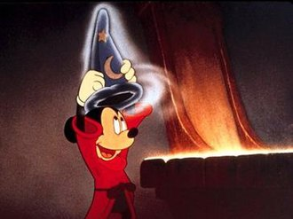 Mickey Mouse - Mickey in Fantasia (1940).