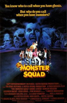 Image result for The Monster Squad Poster