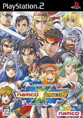 Namco × Capcom - Cover art