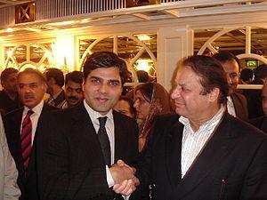 Nawaz Sharif with Sakib Berjees 1