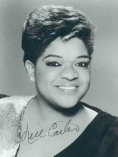 Nell Carter American singer and actress