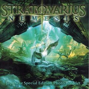 Nemesis (Stratovarius album) - Image: Nemesis Japan Artwork