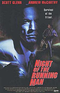 <i>Night of the Running Man</i> 1995 film by Mark L. Lester