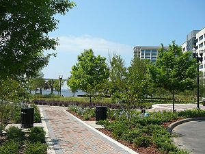 Jacksonville Riverwalks - New access from Fidelity land swap