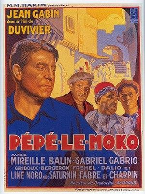Pépé le Moko - Image: Pepelemokoposter