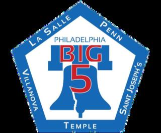Philadelphia Big 5 college mens basketball rivalry between five schools in the Philadelphia area