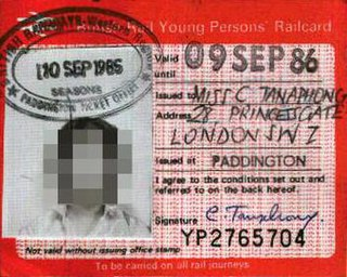 16–25 Railcard