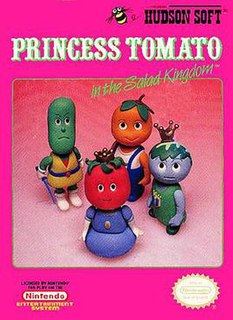 <i>Princess Tomato in the Salad Kingdom</i> 1988 video game
