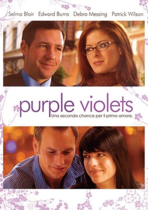 Purple Violets - Theatrical film poster
