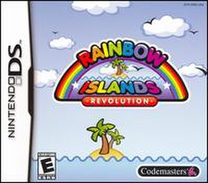 Rainbow Islands Revolution - Rainbow Islands Revolution box art for the Nintendo DS, US Version