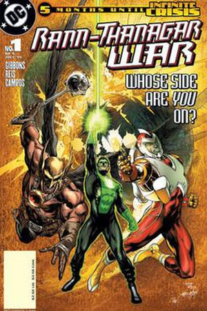 Rann–Thanagar War - Image: Rann–Thanagar War (no. 1 DC Comics, 2005, front cover)
