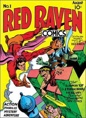Red Raven Comics - First and last issue of Red Raven Comics