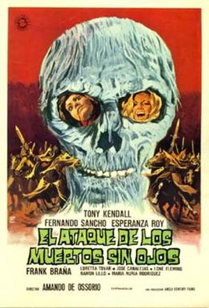Return of the Blind Dead - Original Spanish film poster