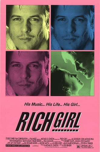 Rich Girl (film) - Theatrical release poster