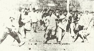 1964 East Pakistan riots massacre and ethnic cleansing of Bengali Hindus from East Pakistan in the wake of an alleged theft of what was believed to be the Prophets hair from the Hazratbal shrine in Jammu and Kashmir in India