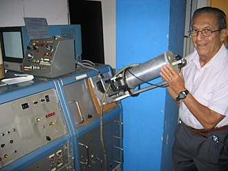 Robert Ledley - Robert Ledley pictured with FIDAC in 2007.