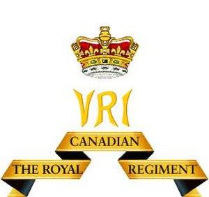 The Royal Canadian Regiment - Regimental cypher of The Royal Canadian Regiment.
