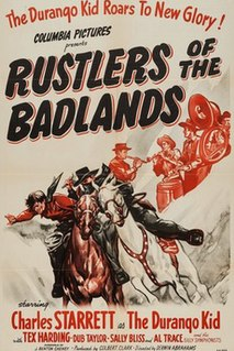 <i>Rustlers of the Badlands</i> 1945 film by Derwin Abrahams