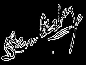 Sam Beazley - Image: Sam Beazley Signature