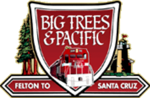 Santa Cruz, Big Trees and Pacific Railway - Image: Santa Cruz, Big Trees and Pacific Railway (emblem)
