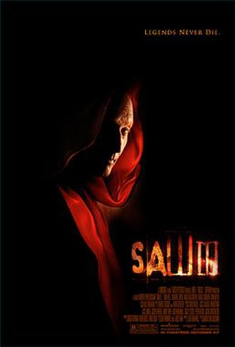 Saw III - Theatrical release poster