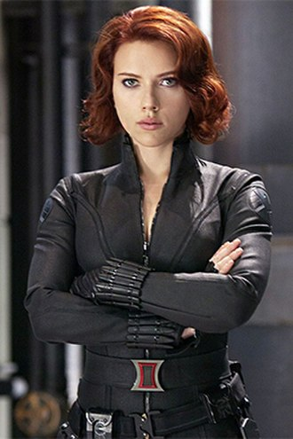 Black Widow (Natasha Romanova) - Scarlett Johansson as Natasha Romanoff in Iron Man 2