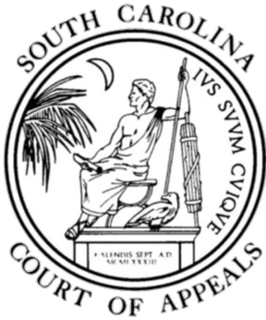 South Carolina Court of Appeals Intermediate appellate court of South Carolina