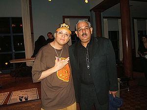 Shaggy Flores - Image: Shaggy Flores and Victor Hernandez Cruz