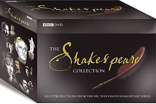 series of British TV adaptations of the plays of Shakespeare