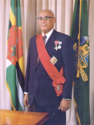 Clarence Seignoret - Clarence Seignoret as President