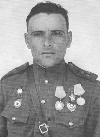 81st Guards Rifle Division - Lt. Col. G. T. Skiruta in 1945 after promotion to colonel