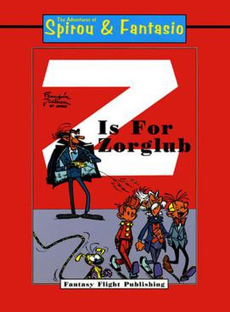 Z comme Zorglub - Spirou published in English