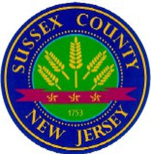 Sussex County, New Jersey - Image: Sussex Seal