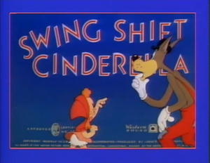 Swing Shift Cinderella - Title screen