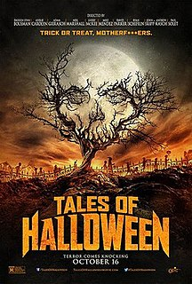 <i>Tales of Halloween</i> 2015 American horror comedy film directed by Neil Marshall