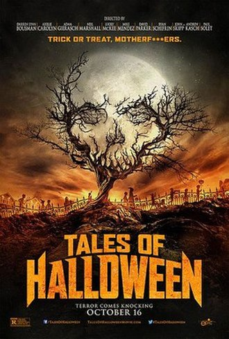 Tales of Halloween - Theatrical release poster